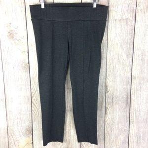 One 5 One Miracle Ab-Shaper Dk Grey Leggings Sz L